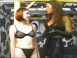 Sm lesbian Sm girl girl spanking