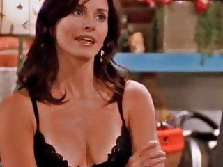 Jenna fischer dewey cox lingerie Courteney cox - friends cleavage