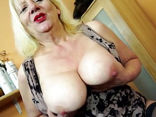Nice old cunt - Dirty granny with big boobs and hungry old cunt