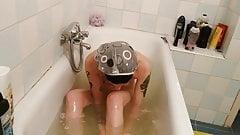 Behind the scenes, taking a bath pt1 HD