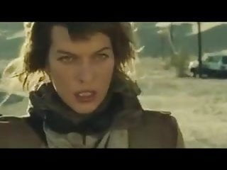 Milla jovovich porno Milla jovovich is so damn hot that the air begins to burn