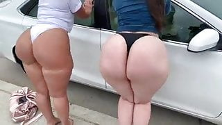 Big White Asses Clapping