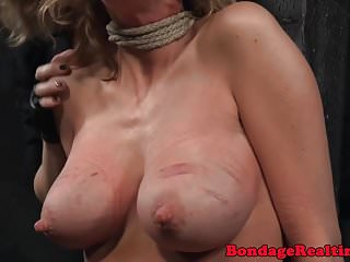 Breast reduction scars pictures - Bigtitted bdsm sub with scars gets canned
