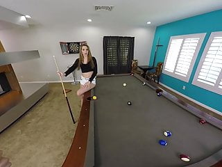 Kathy ireland rug gees bend strips Stripping slut bends over the pool table for sex