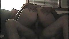 Wife's Ass Riding my Dick