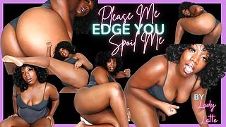 Please Me Edge You Spoil Me Findom Edging JOI Lady Latte