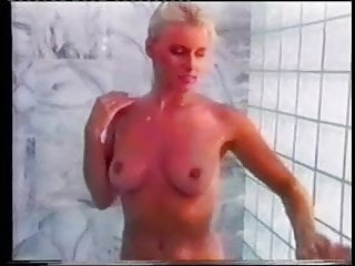 Sexy pigtail Shower sex scene with a pigtailed sexy blonde