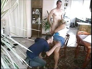 Bisexual or slut - Mature slut with her bi boys
