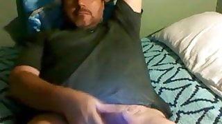 Atracctive daddy wanking 140319