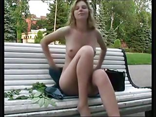 Nude chuby legs Nude in public with legs spread