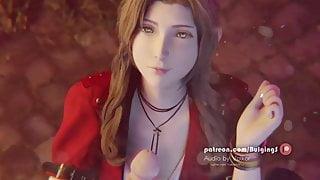 Final Fantasy Aertih Handjob Facial