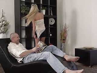 Gentle vietnamese blowjob - Old4k. gentle old man caresses blonde princess claudia mac