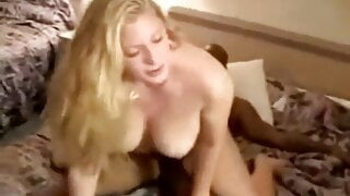 Thick Blonde Wife Taking Two BBCs In Front Of Her Cuck Hubby