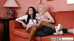 Babes - Chick Flick  starring  Sweet Cat and Eileen Sue  cli
