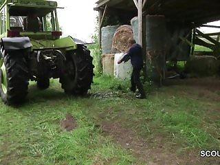 Xxx dad fuck free - German milf mom and dad fuck outdoor on farm