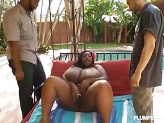 Milky black tits Busty milky mz diva fucked by 2 dicks