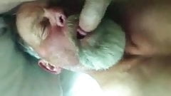 Daddy Blowing Strangers Cock