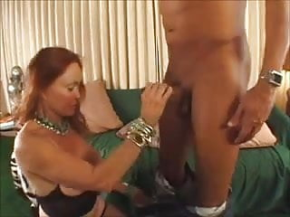 Momma loves redheaded pussy - Granny loves a cock in her pussy, ass and cum in her mouth