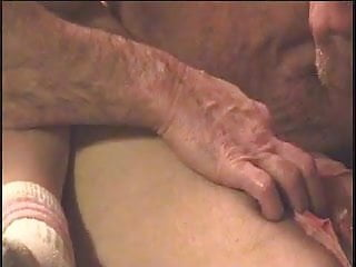 A sexual people Seniors having a sexual night of bliss