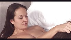Mature Wife initiates younger woman into lesbian sex