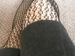 Black foot nylons sexy Legs nylons sexy foots