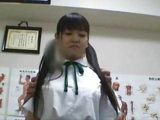 Medical exam femdom - Japanese schoolgirl 18 fucked during medical exam