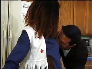 Xxx black cheerleader - Tiny black cheerleader gets buttfucked