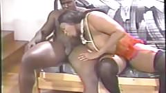 Mature Ebony Woman Lactating