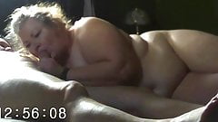 My Plumper Wife Chris sucks my cock