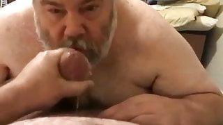 bear suck cock