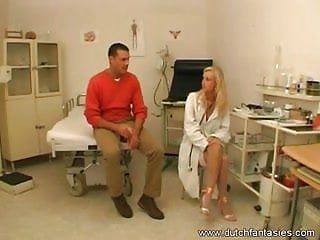 Hot doctor feels up busty patient - Patient ended up fucking doc