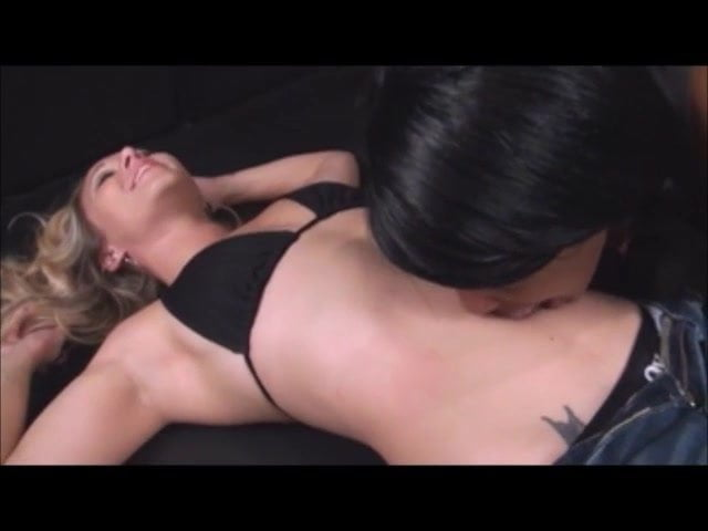 Lesbian Belly Button Licking
