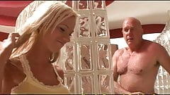 Young Blonde Fucked By Older Man