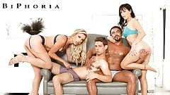 BiPhoria - Bisexual Swingers Trade Partners In Group Sex