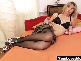 The mature mind h a overstreet Mind-blowing lesbian amateur mamas toying each other
