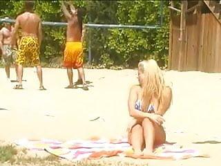 Topless boob beach Big boob beach bangers - 1