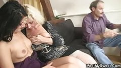 Happy time of fucking with my son's GF