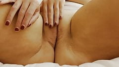 Marcela milf touches herself