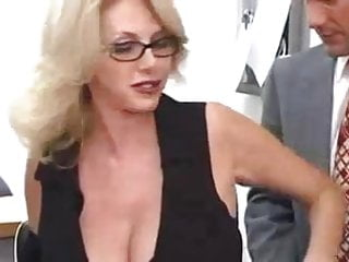 Gay sex partners online - Office milf in glasses makes great sex partner
