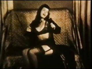 Nude betty - Bettie vintage nylons tease non nude