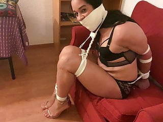 Bbw tied and gagged My friend tied and gagged 13