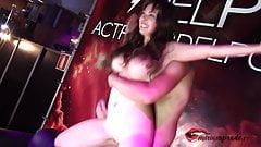 Busty Horny Fucking hard Live In Public - Miriam Prado