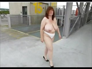 Free boobs mature - German big boobs mature masturbate on car
