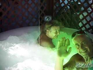 Mature men with boners - A hot tub boner - the art of home video making ...