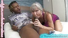 granny takes YOUNG BBC  like shes 18 again
