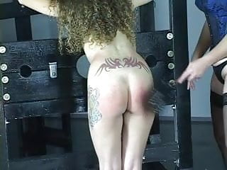 Older lesbian dating Young cheerleader brunette gets spanked and pussy licked by older lesbian