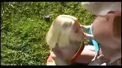 Pappa Wadd & Cindy Crawford OUTDOORS ((Cochinadas))