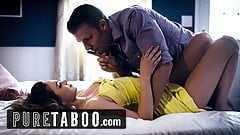PURE TABOO Athena Faris Double-Creampied by BF & Step-Bro