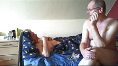 Beautiful Granny - Fuck - Blowjob - Handjob - Part 2