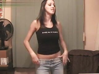 Sexy lttle girl - Perfect boobs girl sexy webcam striptease dance